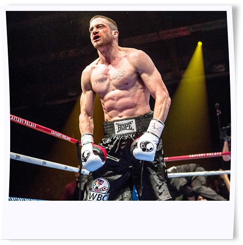 Jake Gyllenhaal Buffed Up for Southpaw