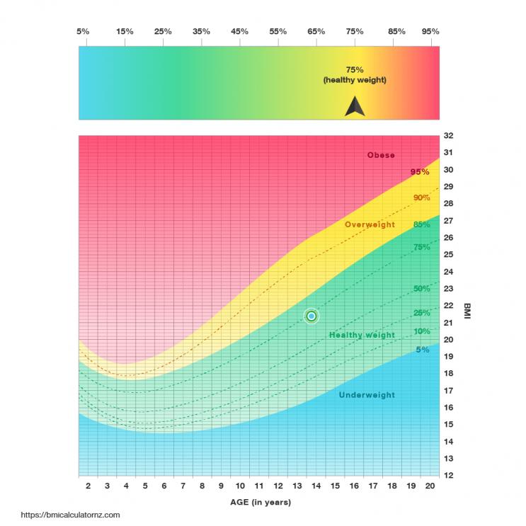 Kids BMI Chart